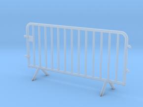 OviMob01 - Metallic police barrier in Smoothest Fine Detail Plastic