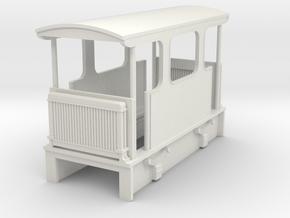 009  1911 Nasmyth Wilson petrol plantation loco  in White Natural Versatile Plastic