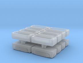 Modern Bath (x16) 1/200 in Smooth Fine Detail Plastic