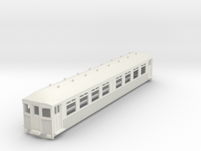 o-100-mersey-railway-1923-trailer-coach in White Natural Versatile Plastic