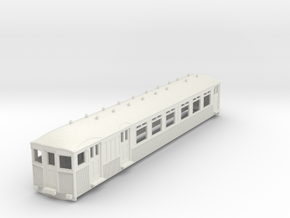 o-76-mersey-railway-1923-motor-coach in White Natural Versatile Plastic