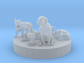 1/87 Dogs Collection in Smooth Fine Detail Plastic