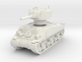 Sherman V tank 1/87 in White Natural Versatile Plastic