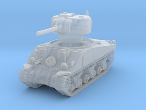 Sherman V tank 1/144 in Smooth Fine Detail Plastic