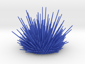 Desk Urchin - A cool way to organize your desk! in Blue Strong & Flexible Polished