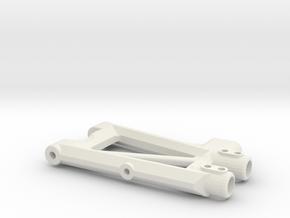 KYOSHO TRIUMPH REAR ARM in White Natural Versatile Plastic