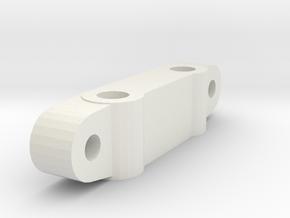 KYOSHO TRIUMPH AXLE STOPPER A in White Natural Versatile Plastic