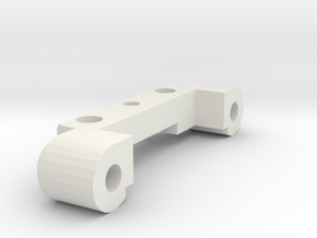 KYOSHO TRIUMPH AXLE STOPPER B in White Natural Versatile Plastic