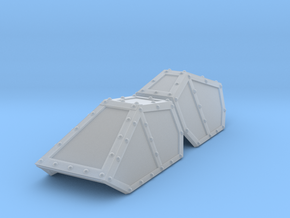SciFi Hyldria aircraft canopy TEST in Smooth Fine Detail Plastic