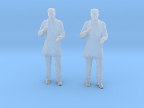 Doctor Standing in Smoothest Fine Detail Plastic: 1:64 - S