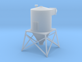 'N Scale' - Rooftop Dust Filter in Smooth Fine Detail Plastic
