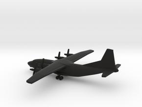 Antonov An-12 in Black Natural Versatile Plastic: 1:500