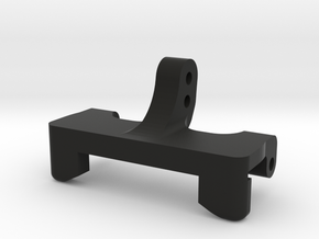Rear Upper Link Riser-Narrow w/2 Vert Single Shear in Black Natural Versatile Plastic