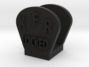 CRC1007 Diff Lock Switch Protector TRX-4 TQi Radio in Black Natural Versatile Plastic