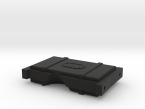 CRC1016 Element RC Enduro Fuel Cell rear brace in Black Natural Versatile Plastic