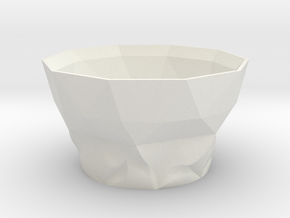 Morph cup 1 in White Natural Versatile Plastic