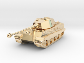 Tank - Tiger 2 - size Small in 14k Gold Plated Brass
