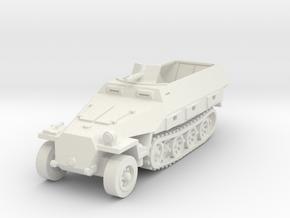Sdkfz 251 D1 1/87 in White Natural Versatile Plastic