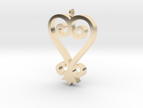 SANKOFA 2 in 14K Yellow Gold