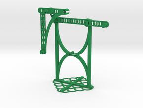 b: 3.25 c: 1.79 f: 1.80 CL: 0.38 CP: 0.43 in Green Processed Versatile Plastic