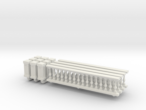 Baluster 01. 1:64 Scale  in White Natural Versatile Plastic