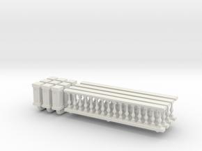 Baluster 01. 1:64 Scale  in White Natural Versatile Plastic