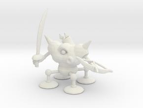 Dragon Quest Killing Machine miniature games rpg in White Natural Versatile Plastic
