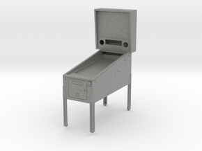 Trophy - Mini Pinball Cabinet v3 - 1:20 Scale in Gray PA12