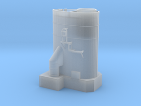 Funnel for HMS Russel F97 Type 14 Frigate in Smooth Fine Detail Plastic
