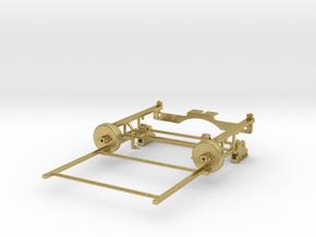 On30 Bachmann 2-8-0 Drivetrain Upgrade in Natural Brass