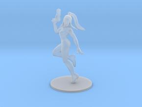 Metroid Samus Zero Suit miniature scifi games rpg in Smooth Fine Detail Plastic