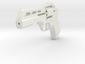Sarah Conner Revolver Replica -Terminator Inspired in White Natural Versatile Plastic