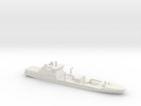 Tide-class tanker, 1/1200 in White Natural Versatile Plastic