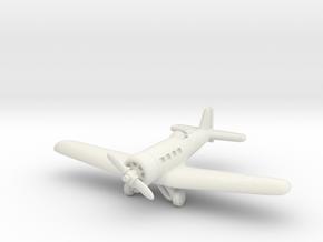 Northrop Alpha 1/285 in White Natural Versatile Plastic