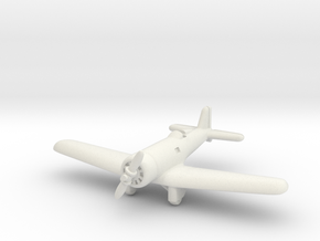Northrop Alpha 1/285 (Enclosed landing gear) in White Natural Versatile Plastic
