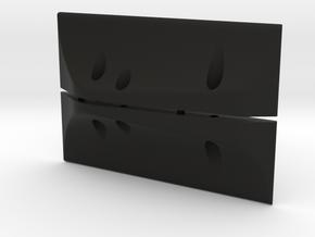 TGHv3 Electronic Tray Sliders in Black Natural Versatile Plastic