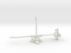 ZTE Blade 10 Prime tripod & stabilizer mount in White Natural Versatile Plastic