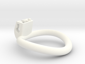 Cherry Keeper Ring - 47mm -2° in White Processed Versatile Plastic