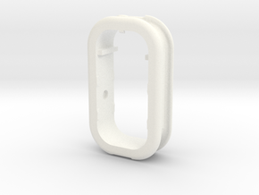 Part 1 of 4 - Folding Wall Dock - Cord Holder in White Processed Versatile Plastic