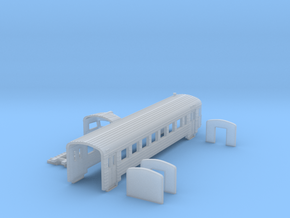 er 2t shell 2019 soviet train in Smoothest Fine Detail Plastic: 1:160 - N