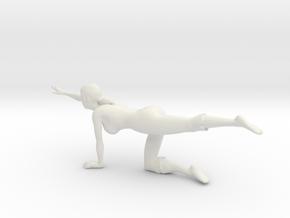Printle L Femme 949 - 1/24 - wob in White Natural Versatile Plastic