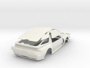 DaytonaConcept_02 in White Natural Versatile Plastic