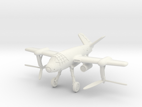 (1:144 whif) Focke Achgelis 269 V-tail (Rotor Down in White Natural Versatile Plastic