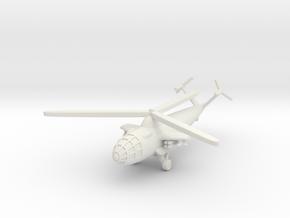 (1:285) Focke Achgelis Fa.336 Attack Helicopter in White Natural Versatile Plastic