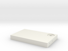 "Beskar Steel Replica 5"" in White Natural Versatile Plastic"