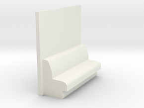 CNR Double Bedroom (single) in White Natural Versatile Plastic