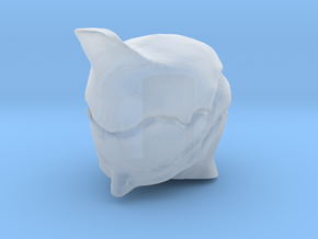 Lego Warframe Excalibur Head in Smooth Fine Detail Plastic