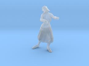 Zombie Nurse 1/60 miniature games rpg horror in Smooth Fine Detail Plastic