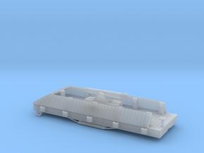 N USMRR ARMORED FLATCAR in Smooth Fine Detail Plastic
