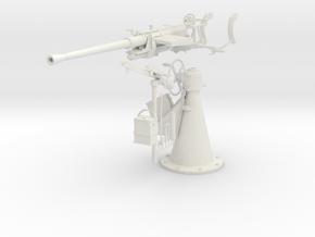 1/5 DKM 20 mm C30 single flak KIT in White Natural Versatile Plastic